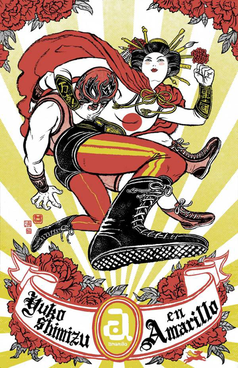 Yuko Shimizu Illsutration - Asian Super-girls!