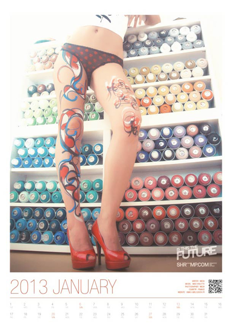 Graffiti-on-Girls-2013-Calendar-5